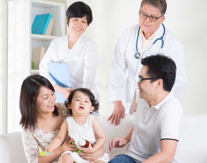 pacjentka doktora zdjęcia stock