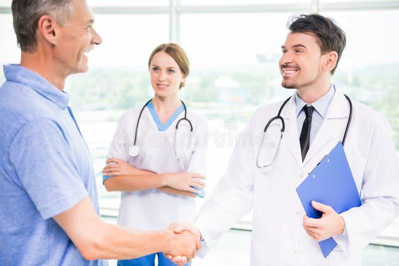 pacjentka doktora