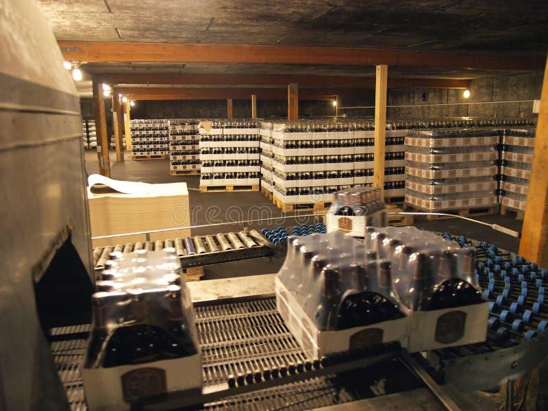 Pack-Band des Brauereilagers lizenzfreie stockfotos