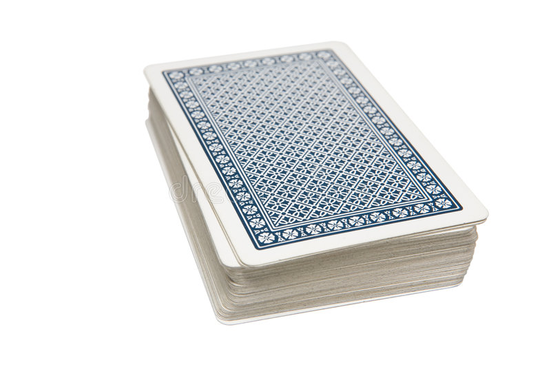 Pack of Cards royalty free stock images