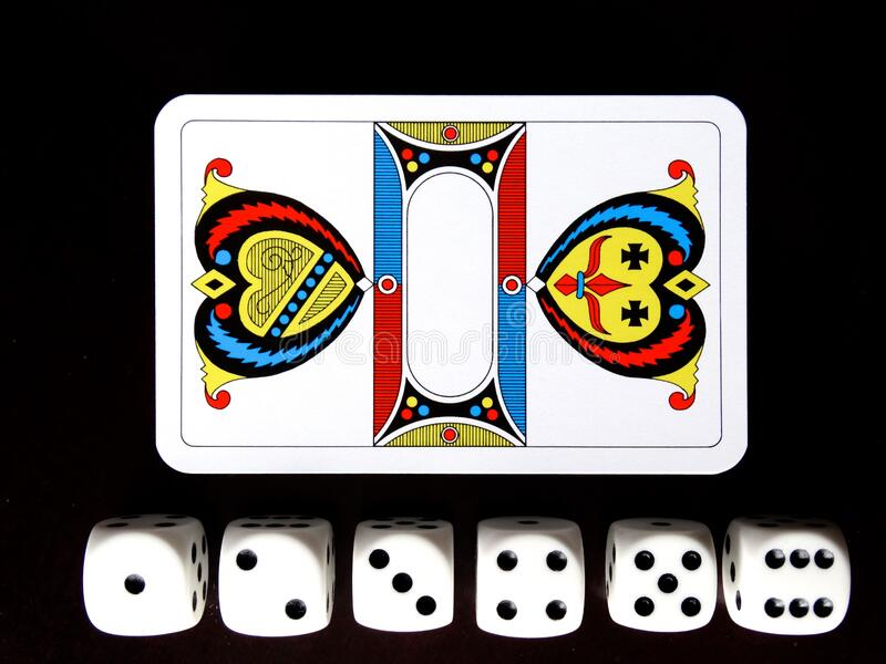 Pack Of Cards And Dice Set Free Public Domain Cc0 Image