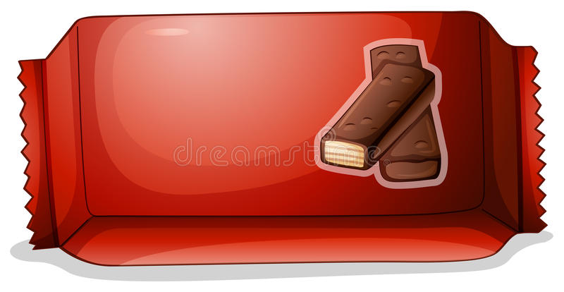 A Pack Of Chocolate Royalty Free Stock Images