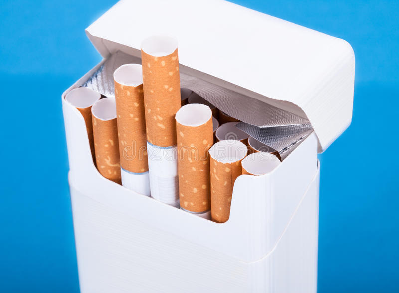 Pack Of Cigarette royalty free stock photos