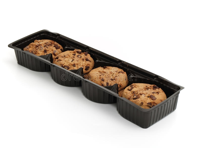 Pack of cookies stock photos