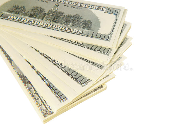 Download Pack of dollars stock image. Image of closeup, green - 29553309