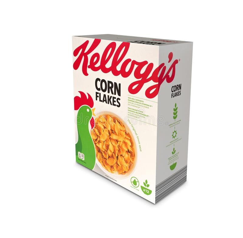 Free Pack Of Kellogs Conflakes Illustrative Editorial Royalty Free Stock Photography - 173614967