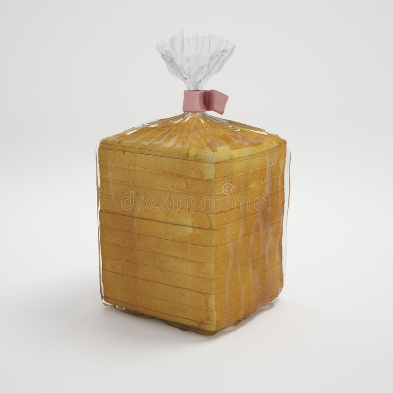 Free Pack Of Sliced Bread Royalty Free Stock Image - 33855026