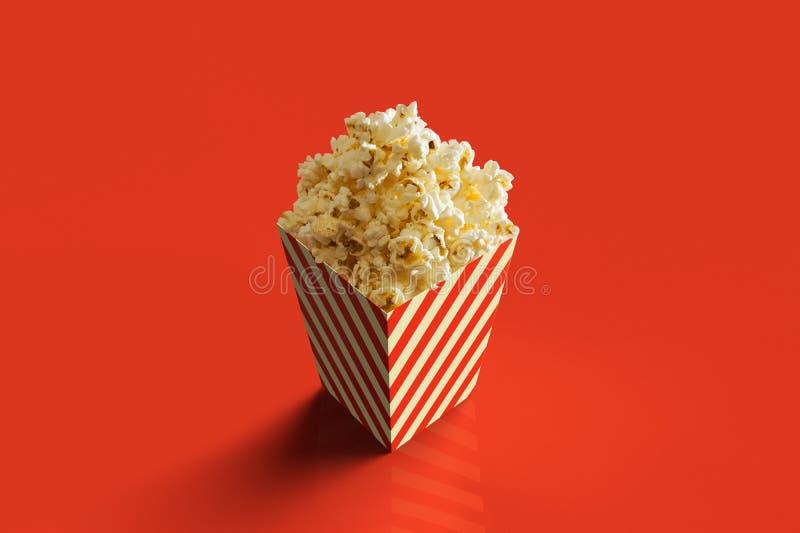 Pack of Pop Corn stock illustration