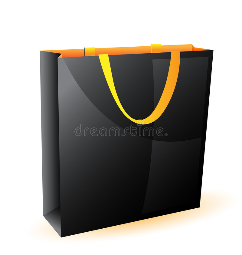 Download Package, A Bag Of Paper, Packaging Stock Vector - Image: 4619422