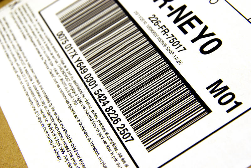 Download Package bar code stock photo. Image of digital, selling - 24576650