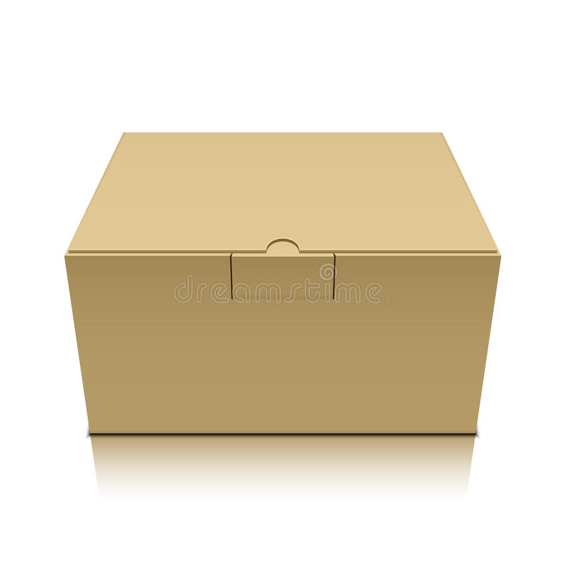 Package box royalty free illustration