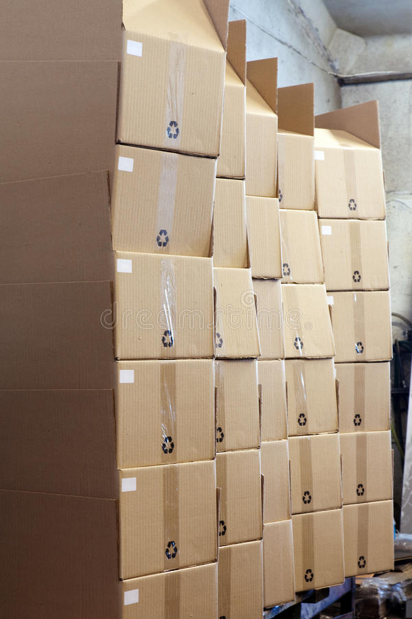 Download Package boxes stock photo. Image of heap, brown, environment - 23342518