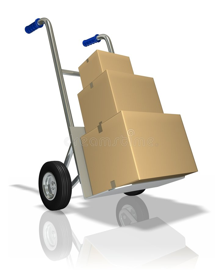 Free Package Delivery Royalty Free Stock Image - 2251126