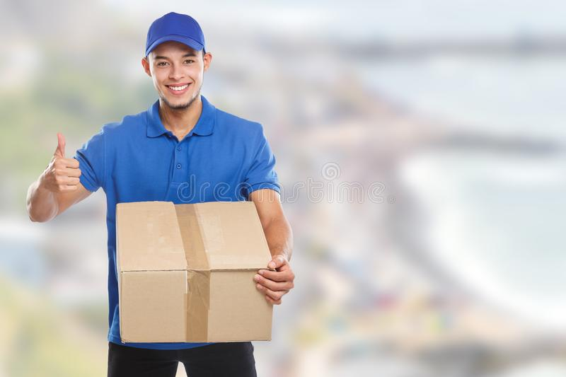 Package parcel delivery service box order delivering job success copyspace copy space. Outdoors stock photography
