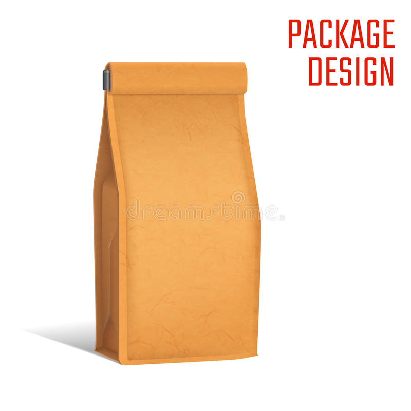 Package snack bag A royalty free illustration