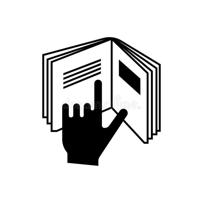 Package Symbol Read Instructions Vector Stock Vector Illustration
