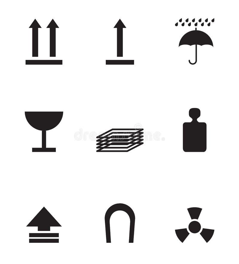 Download Package symbols stock illustration. Image of break, brown - 10191275
