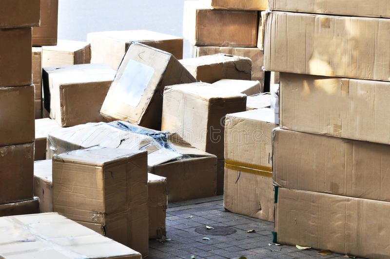 Download Packages stock image. Image of order, corrugated, goods - 22725547