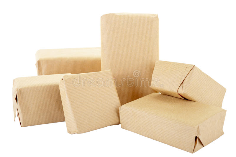 Packages Stock Photography
