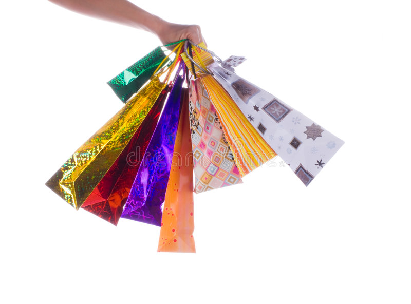 Download Packages in  hand stock photo. Image of retail, carrying - 6958278