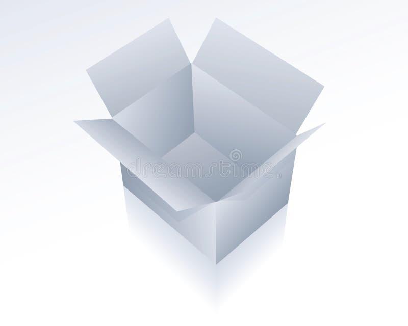 Packaging. Illustration of a single packaging vector illustration