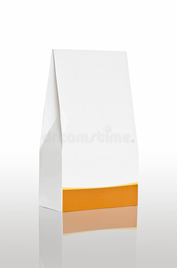 Packaging. For items such as food or other royalty free stock photo