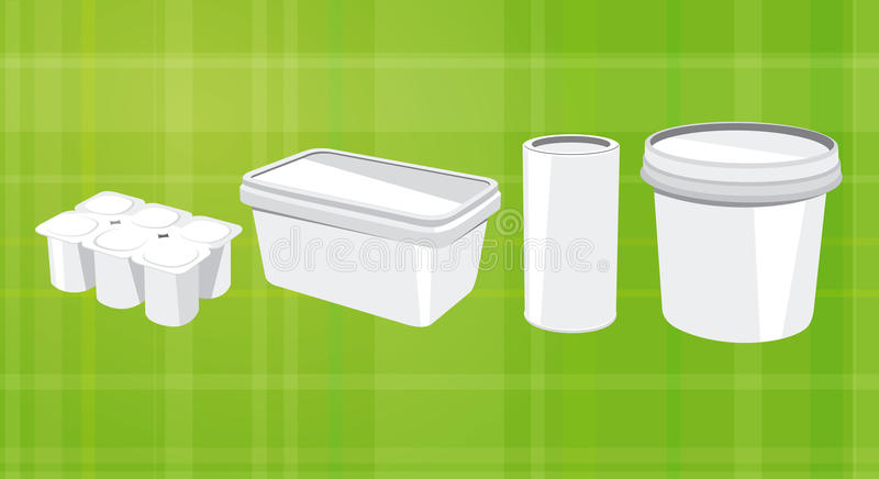 Packaging royalty free illustration