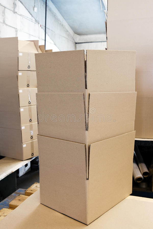 Free Packaging Boxes Stock Photo - 23352510