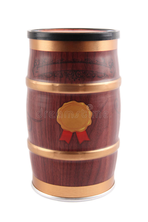 Download Packaging cask stock photo. Image of isolated, barrel - 12047652