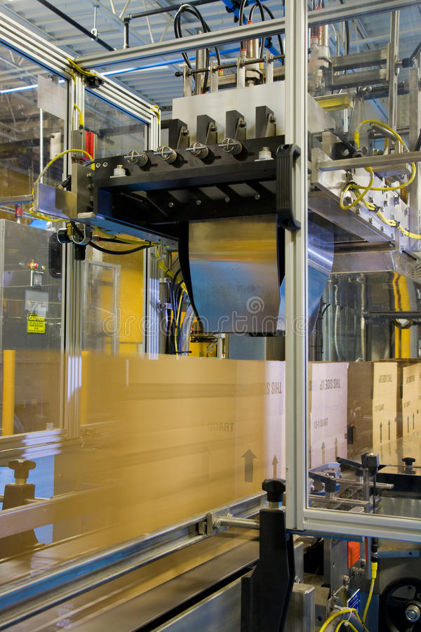 Download Packaging line stock photo. Image of automation, containers - 12721934