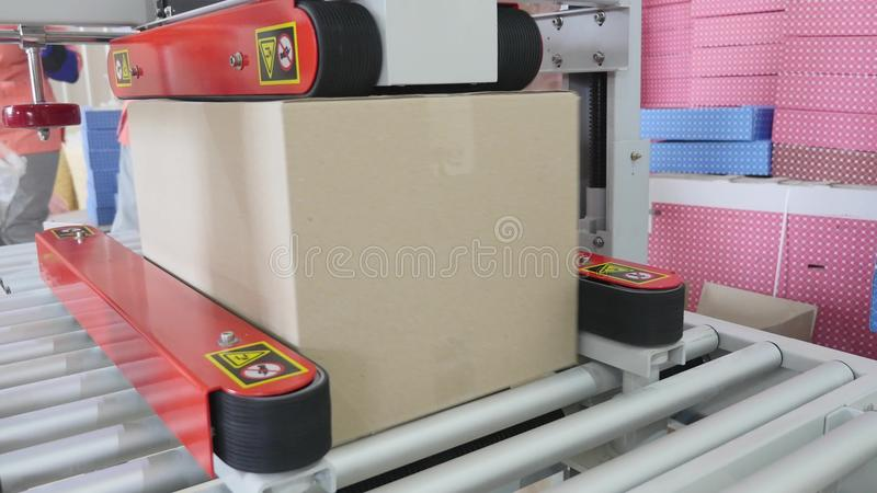 Download Packaging Machine At Workshop Of Food Factory Process Of Packaging Candy In Foil Package Factory Worker Automated Stock Image - Image of packing, modern: 93781321