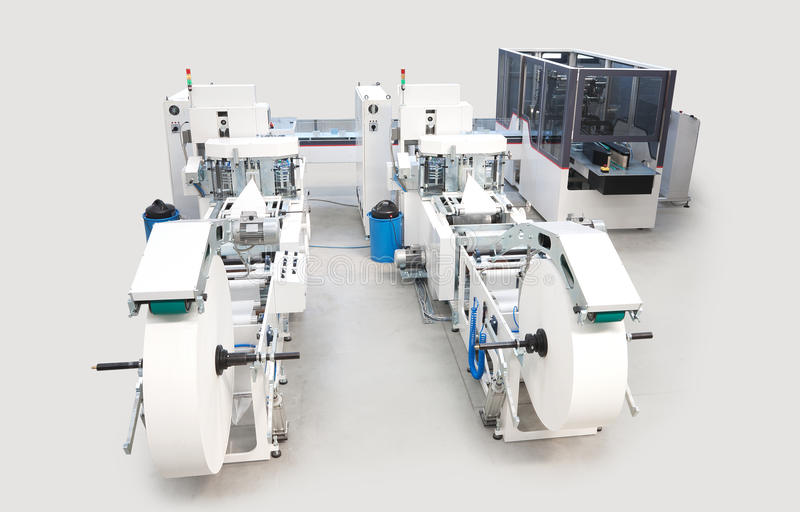 Download Packaging And Printing Machines Royalty Free Stock Images - Image: 26339219