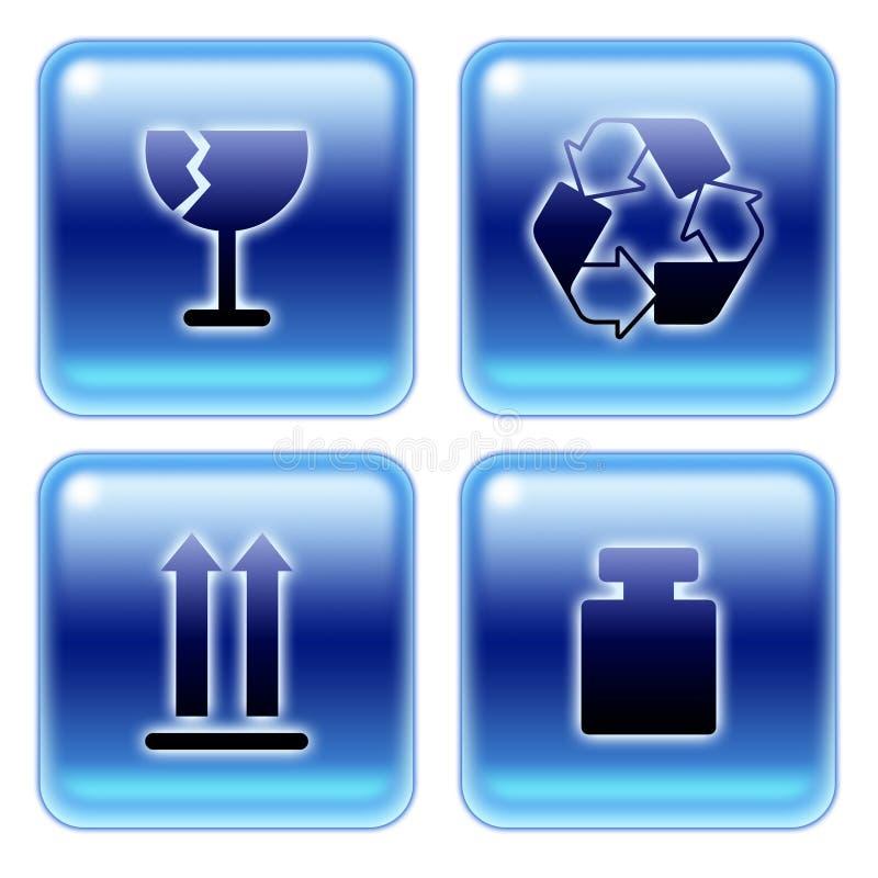 Download Packaging Symbols 01 Stock Image - Image: 7125311