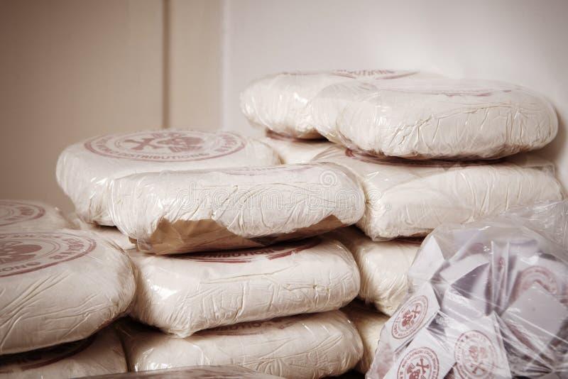 Packar av droger royaltyfri bild
