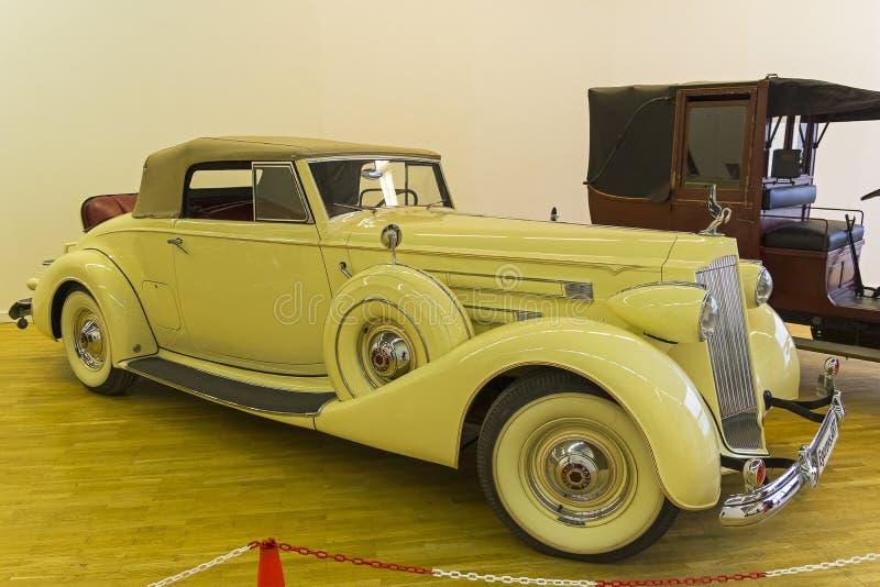 Packard Dwanaście serii 1507 modela 1039 samochodu fotografia royalty free