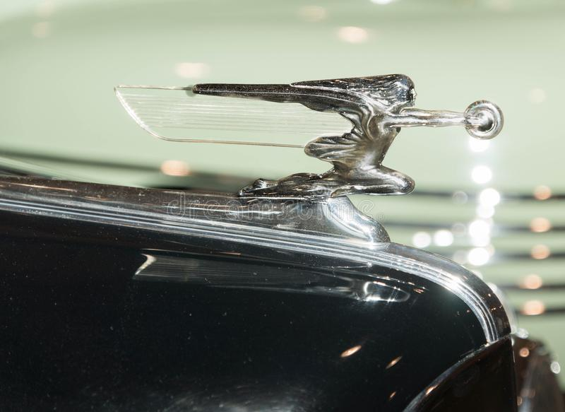 1942 Packard hood ornament royalty free stock images