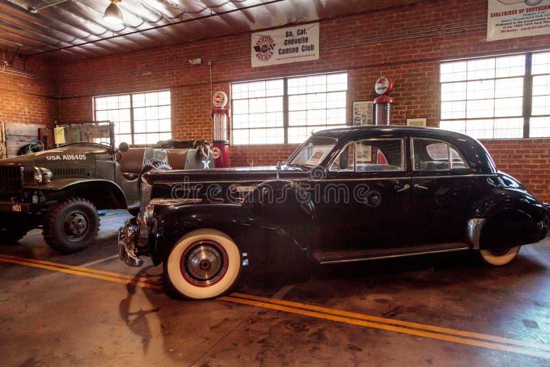 Packard 1941 180 Le Baron Sport Brougham fotos de archivo libres de regalías