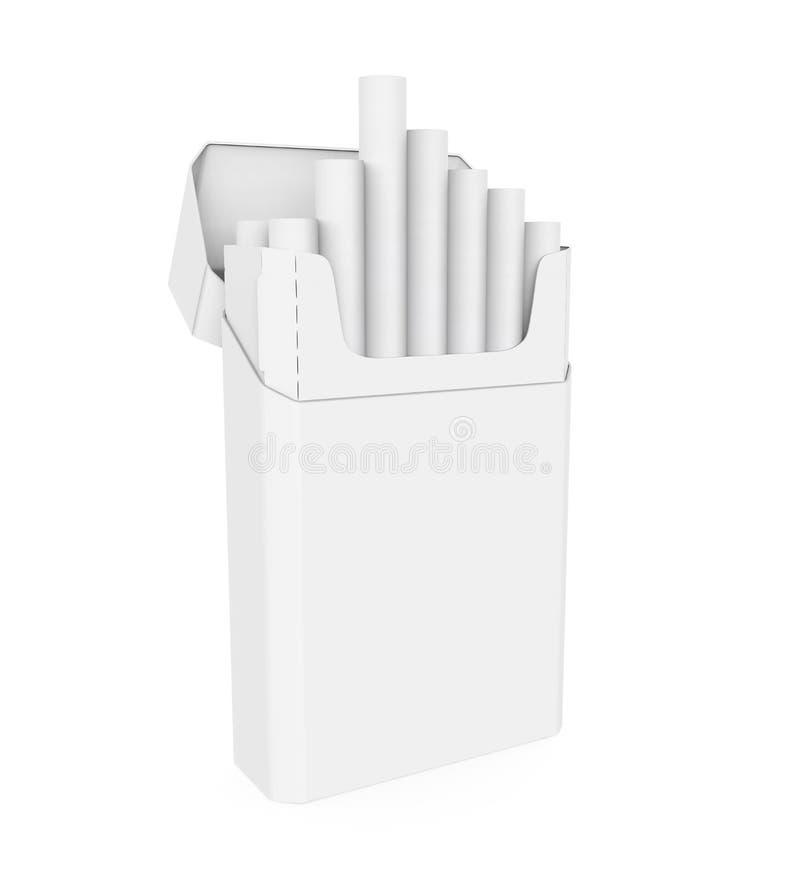 Packe av cigaretter vektor illustrationer