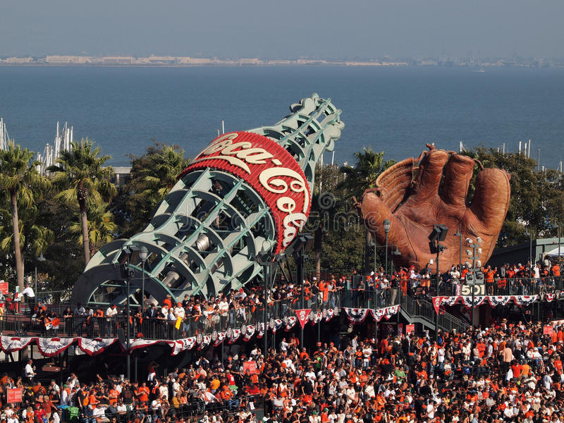 Download Packed House  AT&T Park Fans Standing Everywhere Editorial Image - Image: 16644175