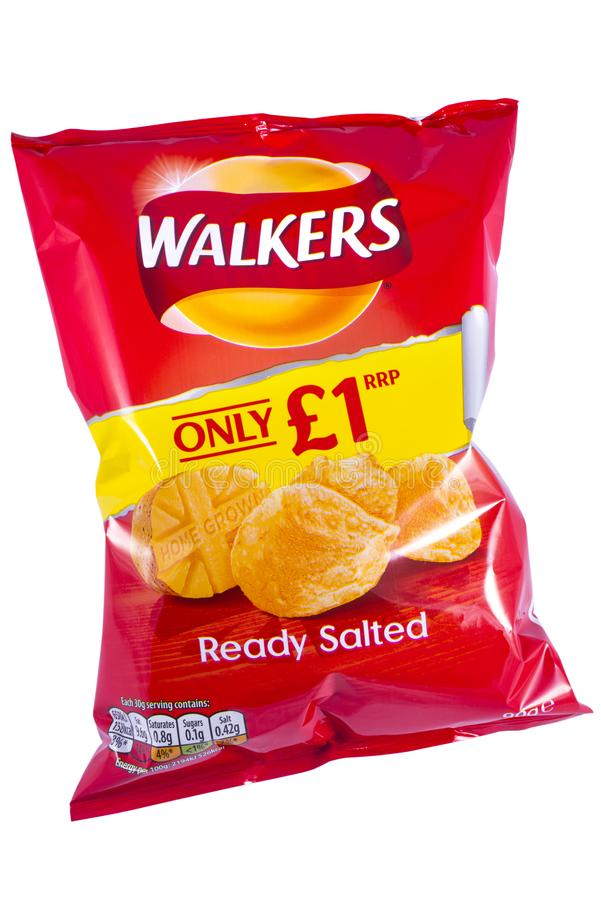 Free Packet Of Walkers Crisps Stock Photo - 102887270