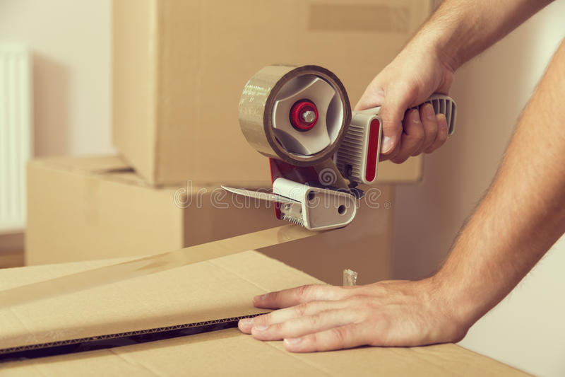 Packing stock images