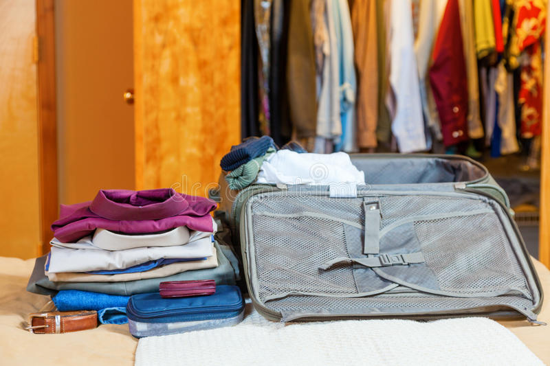 Download Packing Suitcase Stock Photography - Image: 31736722