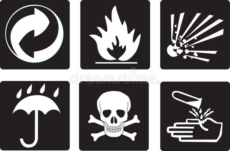 Download Packing symbols stock illustration. Illustration of skull - 359012