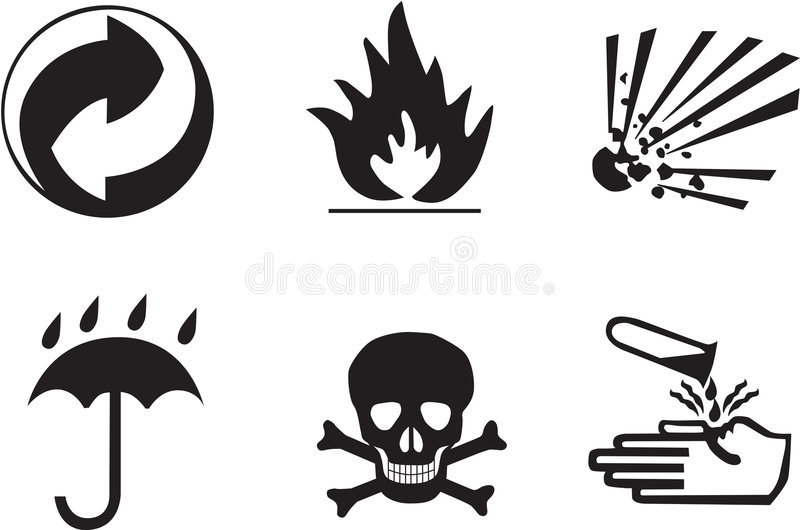 Download Packing symbols stock illustration. Image of hand, umbrella - 359014