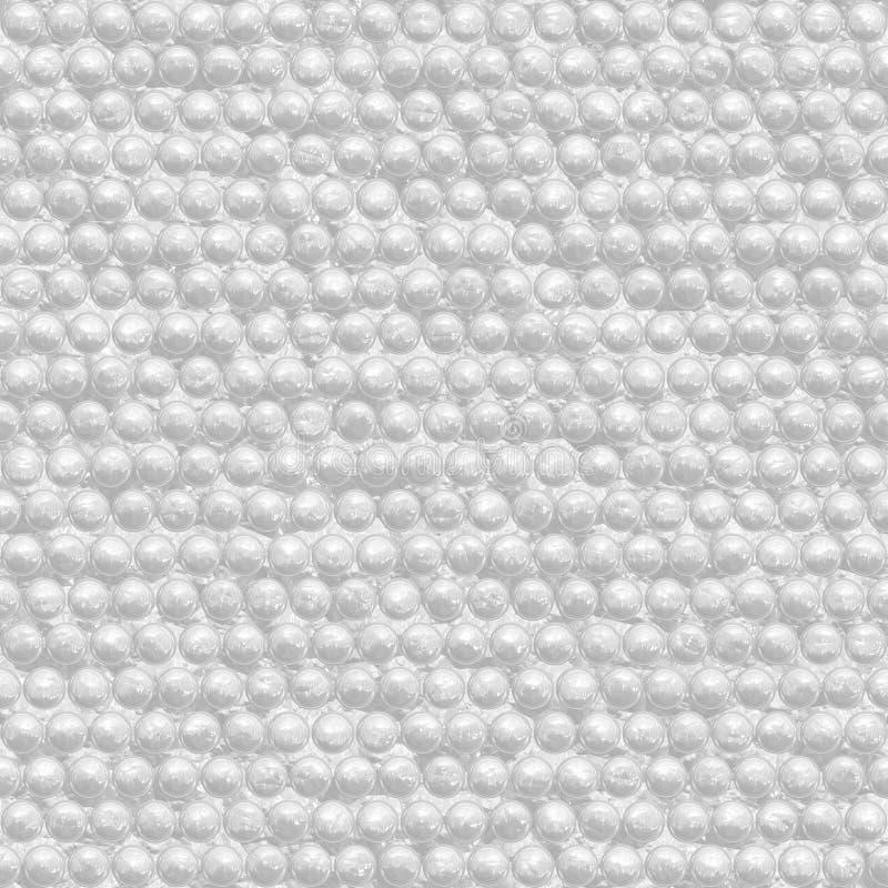 Packpapier, Luftpolsterfoliebeschaffenheit stockfoto