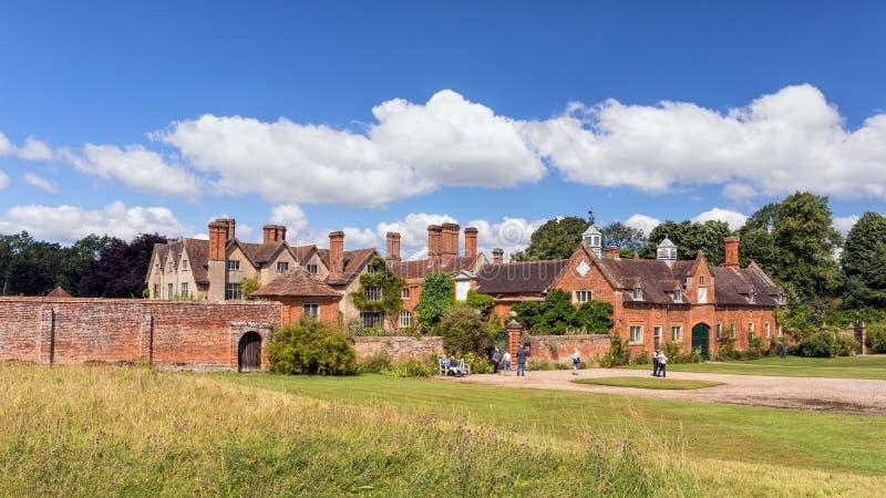 Packwoodhuis, Warwickshire, Engeland royalty-vrije stock afbeelding