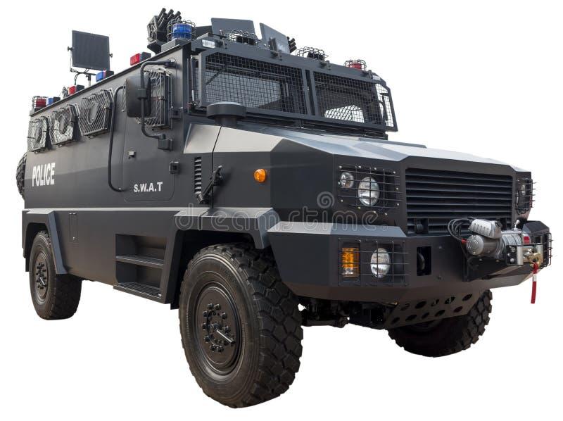 PACNIĘCIE samochód policyjny obraz royalty free