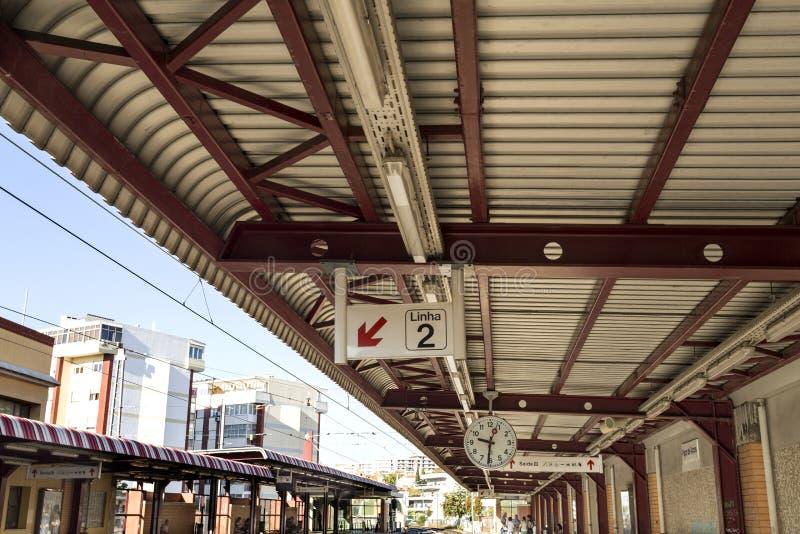 Paco de Arcos Station photos stock