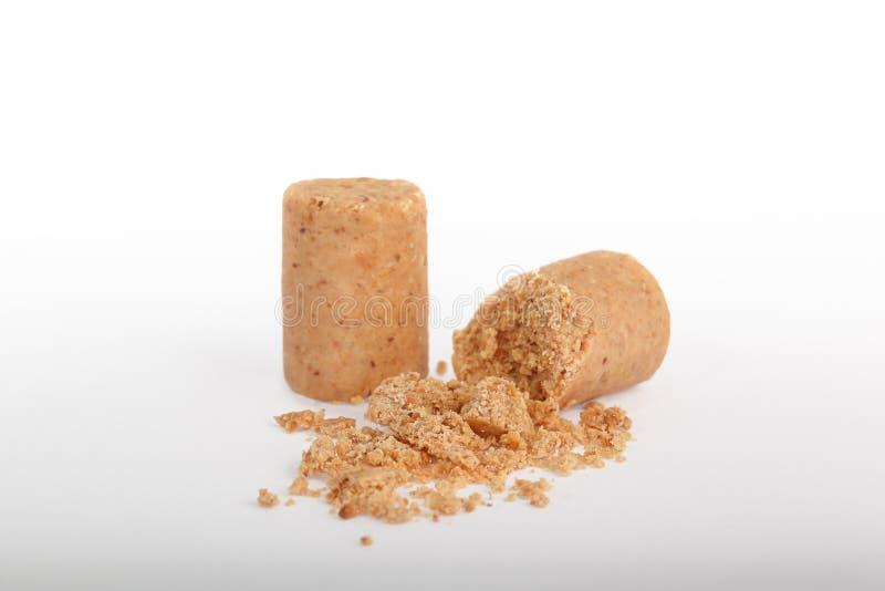 Pacoca Doces brasileiros tradicionais do amendoim fotos de stock