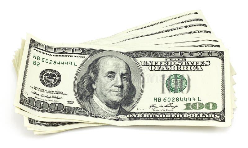 Pacote De Contas De Cem-dólar Imagem de Stock Royalty Free